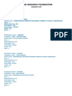 JMMC RESEARCH FOUNDATION-rankerlist