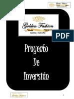 Plan de Negocios,Golden Fashion