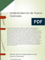 Independencia de Nueva Granada