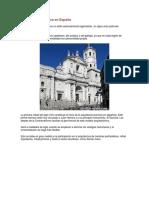Arquitectura Barroca en España