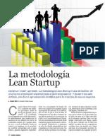 Metodología Lean Startup Revista Gestión