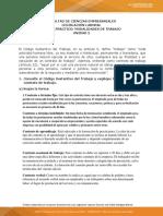 ANALISIS DE CASO SOBRE MODALIDAD DE CONTRATO DE TRABAJO