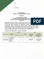 Pengumuman Penyesuaian Formasi CPNS BPPT 2019