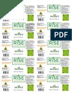 PH Balance 100 ml Subscription Label