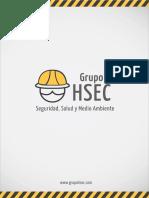 Brochure GRUPOHSEC s-c