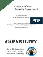 CMMI V2.0 Overview