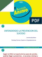 Prevención del suicidio 2019