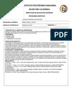 Programa Histología humana 2020-1