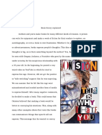 walker aareon literary analysis term paper