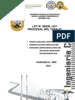LEY N° 26636