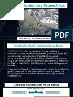 Presentacion N° 3 Diseño geotécnico y geomecánico