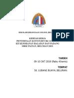 Kertas Kerja Kontinjen SKG 2019