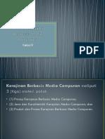 Produk Kerajinan Berbasis Media Campuran