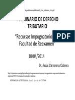 SEMINARIO RECURSOS IMPUGNATORIOS L_dcho_tributario_2014