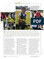 Down to Earth - Using School Gardens to Help Elementary Students Achieve Success