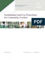 Establishing Land Use Protections for Community Gardens