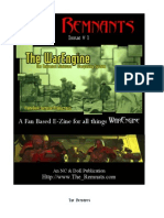 The Remnants Issue 1