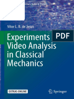 (Undergraduate Lecture Notes in Physics) Vitor L. B. de Jesus (Auth.) - Experiments and Video Analysis in Classical Mechanics -Springer International Publishing (2017)
