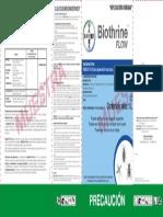 BIOTHRINE FLOW 1L Etq
