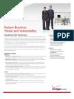 Threat And Vulnerability  Verizon Business