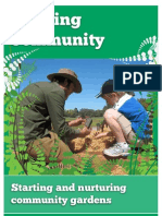 Growing Community, Starting and Nurturing Community Gardens - South Australia