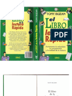 El libro de la lectura Rápida Tony Buzan