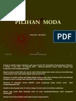 Materi Kuliah - Analisis Sediaan  Pilihan Moda.pdf