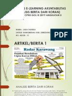(15)_(JAKA FADRIKA) TUGAS LATSAR ANGKATAN 3 E-LEARNING AKUNTABILITAS ANALISIS KORAN (JAKA F. NO. ABSEN 15)