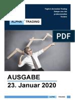 ALPHA TRADING  Ausgabe Januar 2020