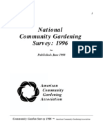 National Community Gardening Survey