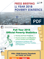 Full Year 2018 Official Poverty Statistics