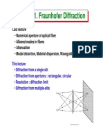 11-Fraunhofer diffraction