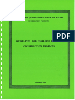 10. CQHP Guidelines on Construction Projects