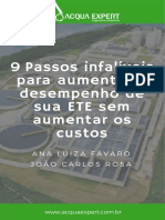 9 passos infalíveis para aumentar o desempenho de sua ETE sem aumentar os custos.pdf