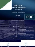 MSC Cruises in Greece