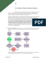 InformationSecurityIncidentBreachHandlingProcedure