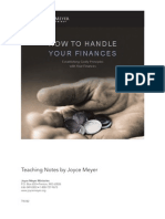 How to Handle Your Finances