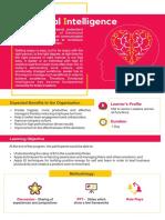 Emotional Intelligence Brochure PLI