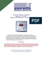 Controlador de Fator de Potencia RPCF3 Samrello