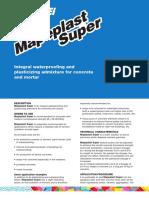 MAPEI superplast