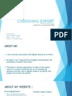 Cherishing Export
