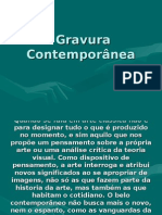 Gravura Contemporânea