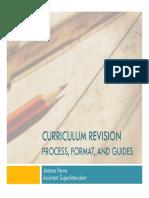 2015 Curriculum Writing Presentation