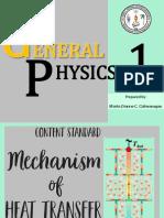 Mechanism of heat Transfer