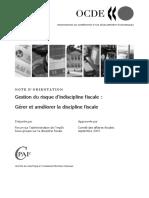 La Gestion de l'indiscipline fiscale(OCDE)