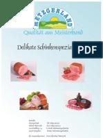 Metzgerland - Schinkenspezialitäten