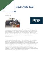 32.Field Trip Guidelines