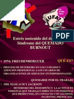 BURNOUT Taller- Prof. Lic. Ma. del Carmen González Fornaro