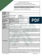 GESTION ECONOMICA DE LA LOGISTICA INTERNACIONAL