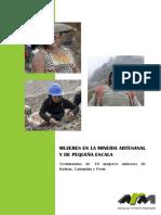 Mujeres en La Minería Artesanal y de Pequeña Escala